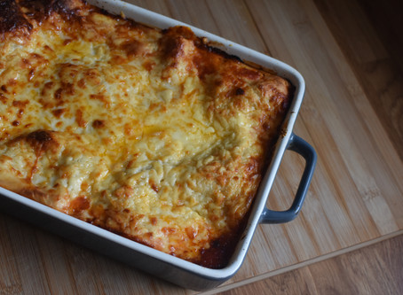 Lasagne - Totally from scratch!