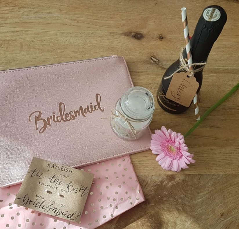 DIY Bridesmaid Proposal