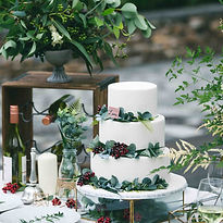 Greenery Wedding Cake Less.jpg