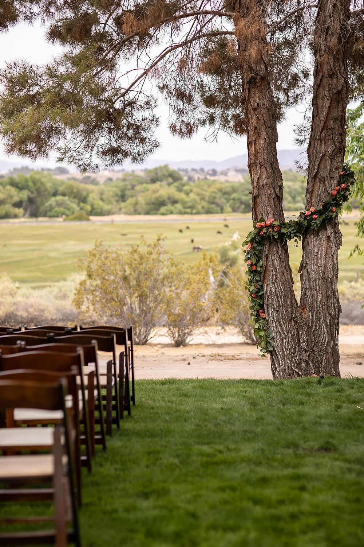 Desert wedding at Kemper Campbell Ranch