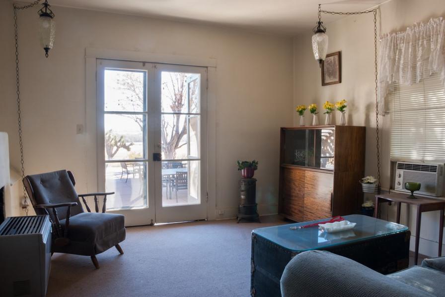 Patio Suite Living Room