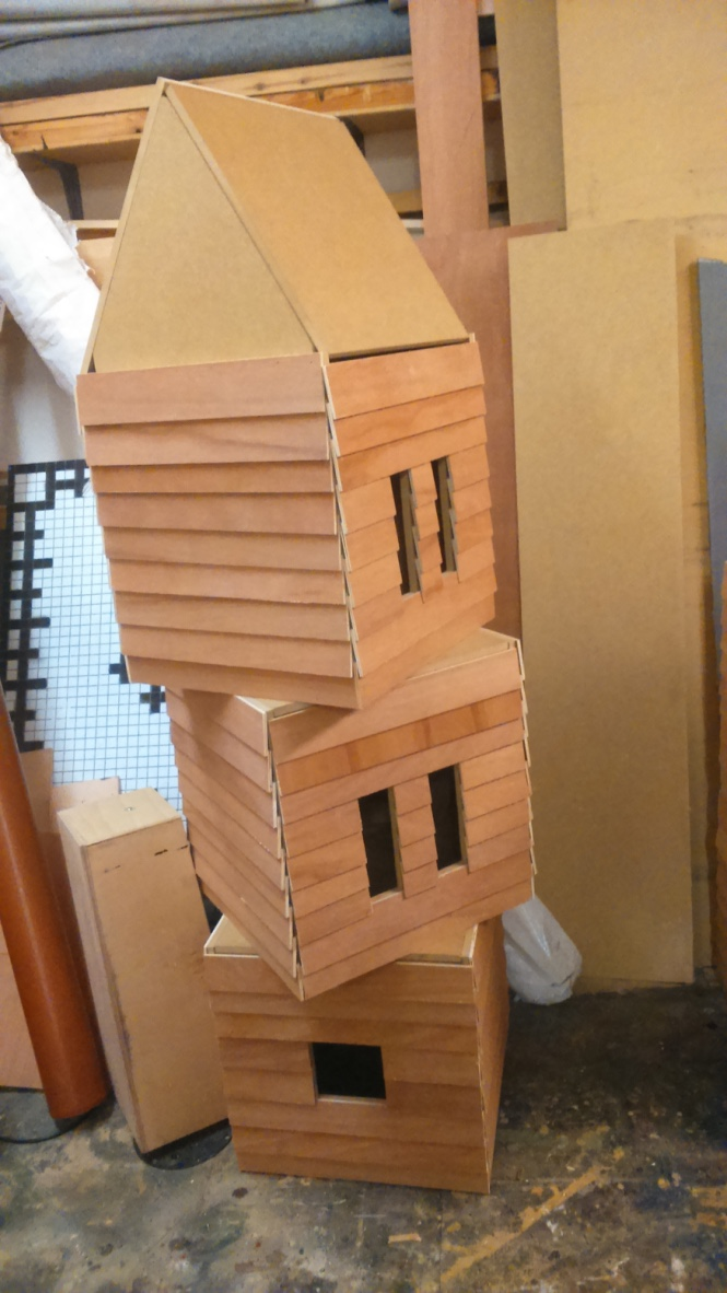 BUILT HOUSE BOXES
