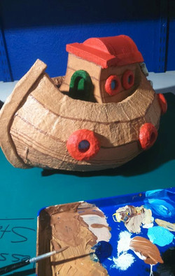 LILY'S TOY BOAT