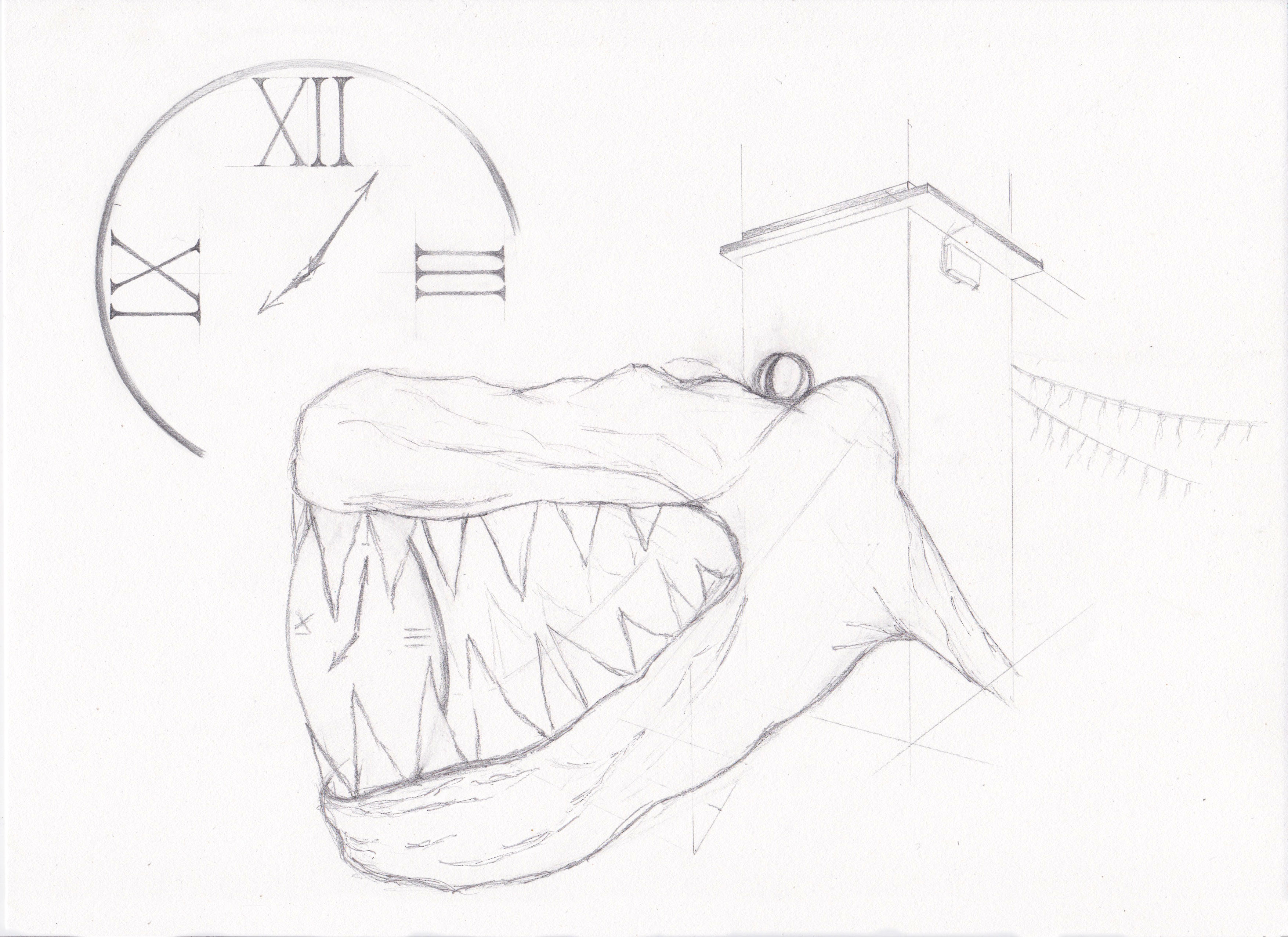 SKETCH OF THE CROCODILE