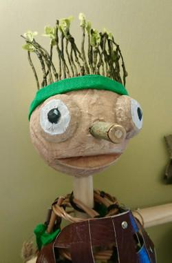 'Bag Enderby' puppet