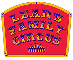 LEAR'S FAMILY CIRCUS SIGN