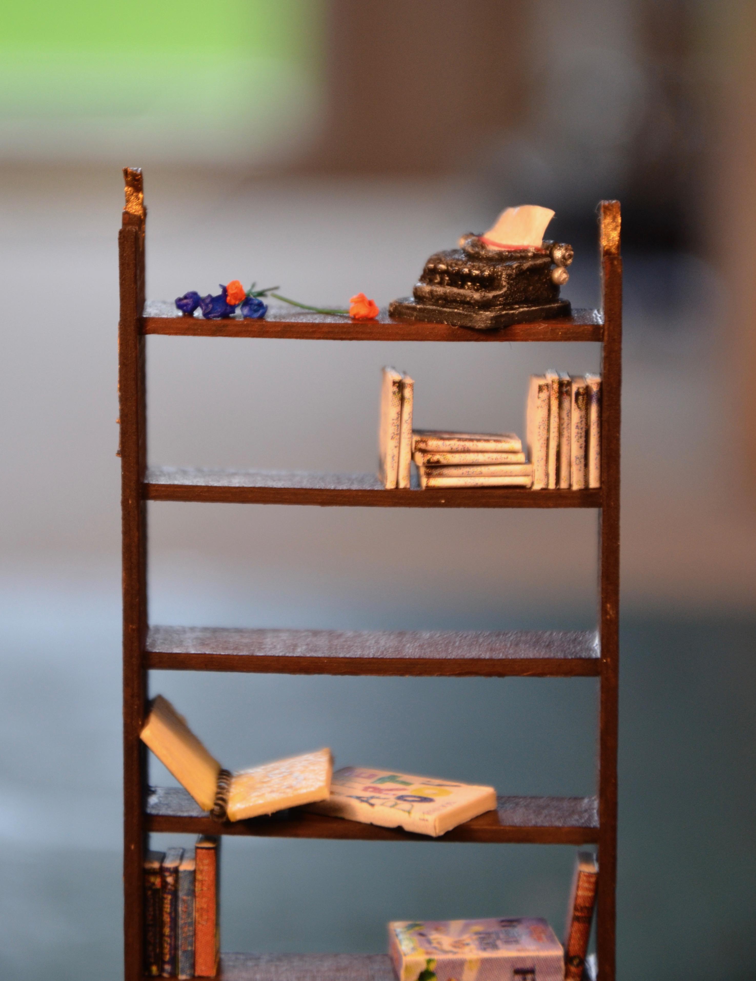 1:25 bookcase
