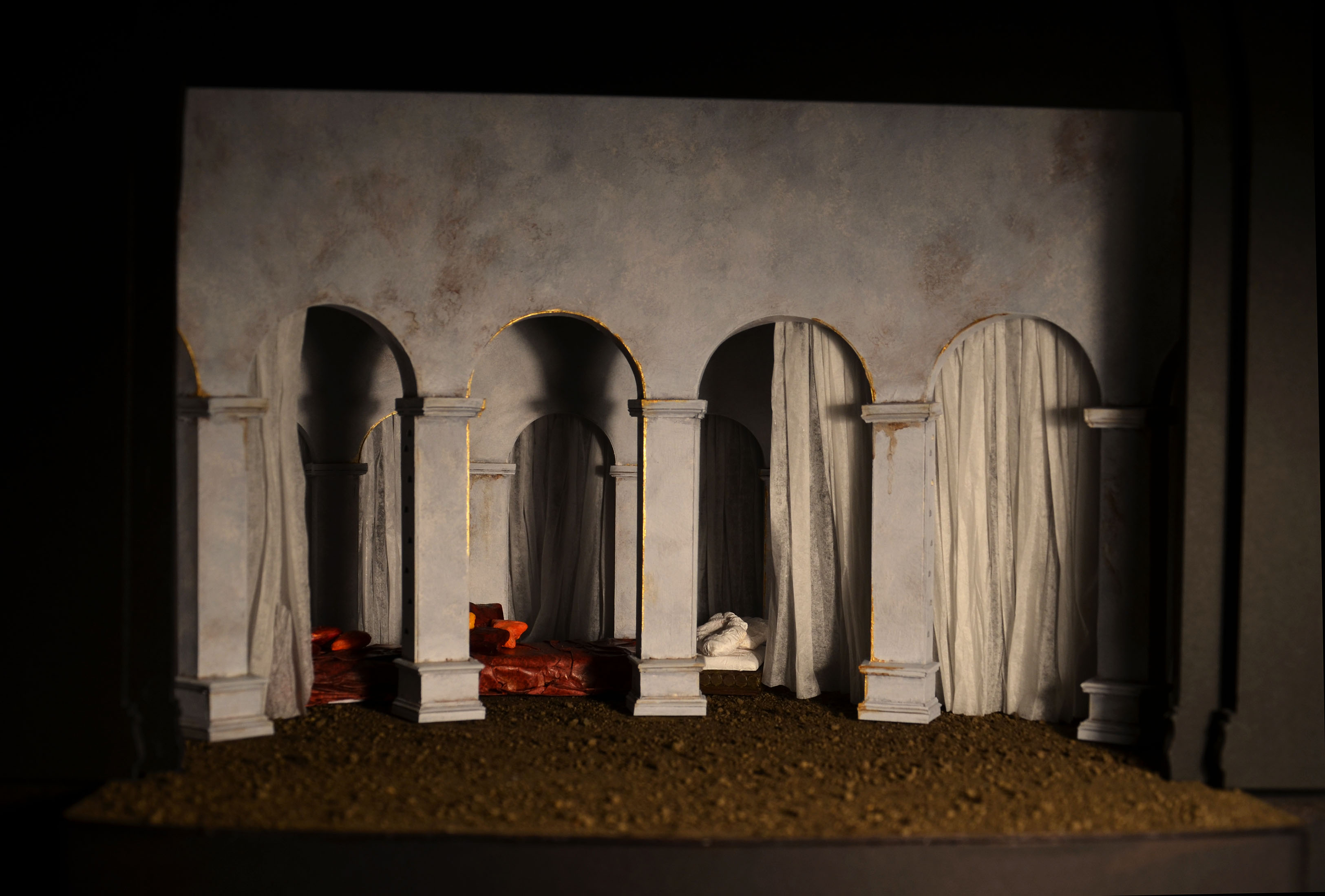Othello and Desdemona's bed