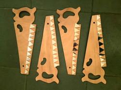 Masons' saws.