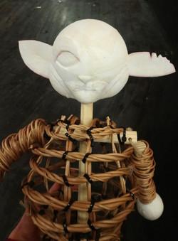 'Robin Hood' puppet
