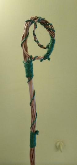 Twig orchestra - Cello, detail