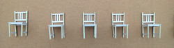 MODEL CHAIRS BEFORE PAINTING