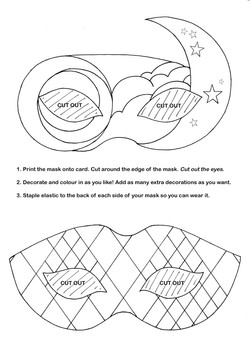 MASK TEMPLATES FOR SCHOOLS