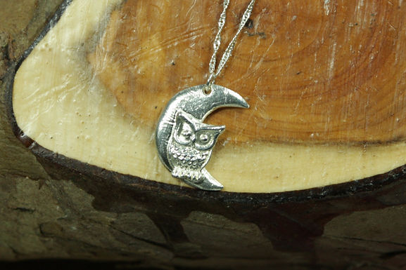 5479 - Owl and moon