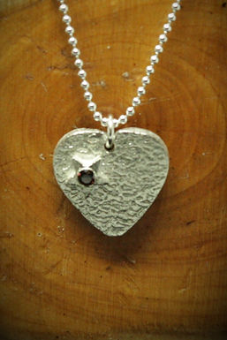 4025 - Heart with star and stone