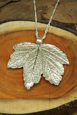 3370 - Large Red Currant leaf