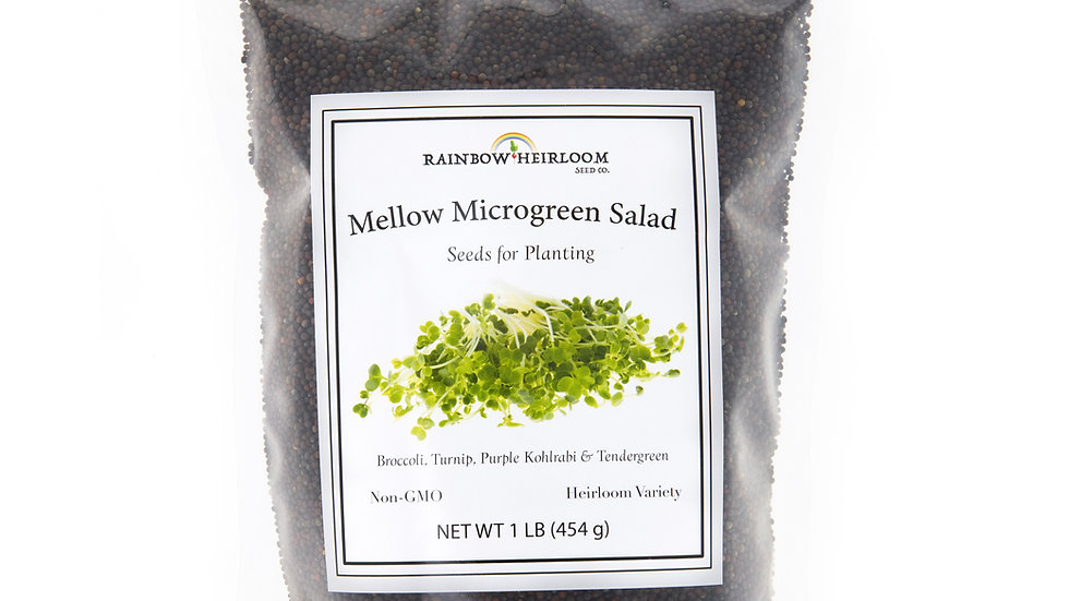 Mellow Microgreen Salad Mix
