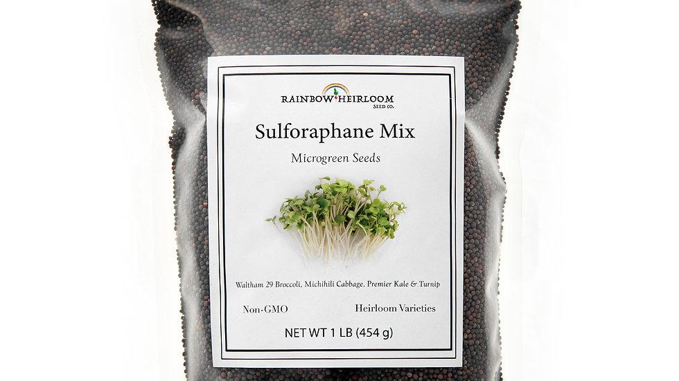Sulforaphane Mix Microgreen Seeds