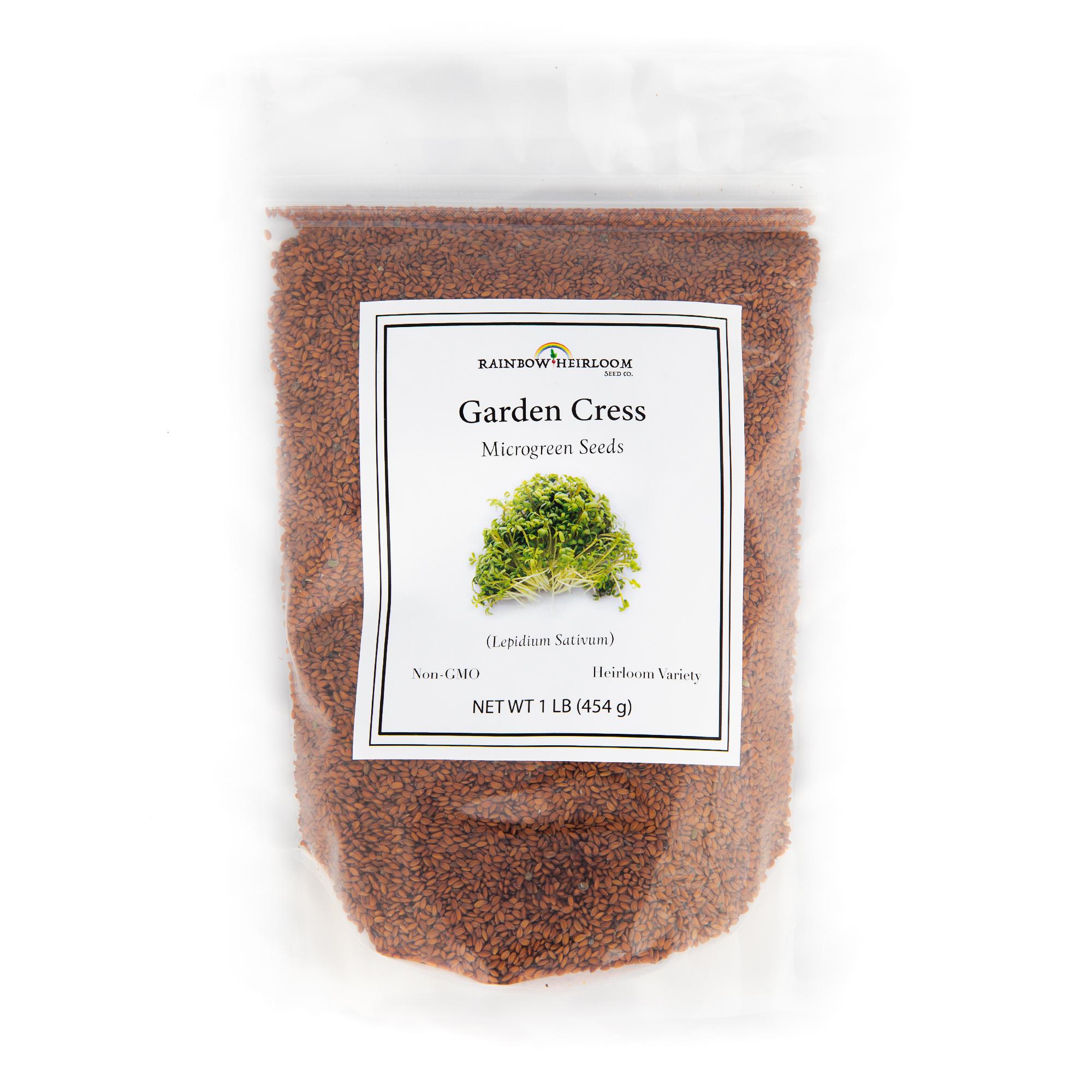 Garden Cress Microgreen Seeds