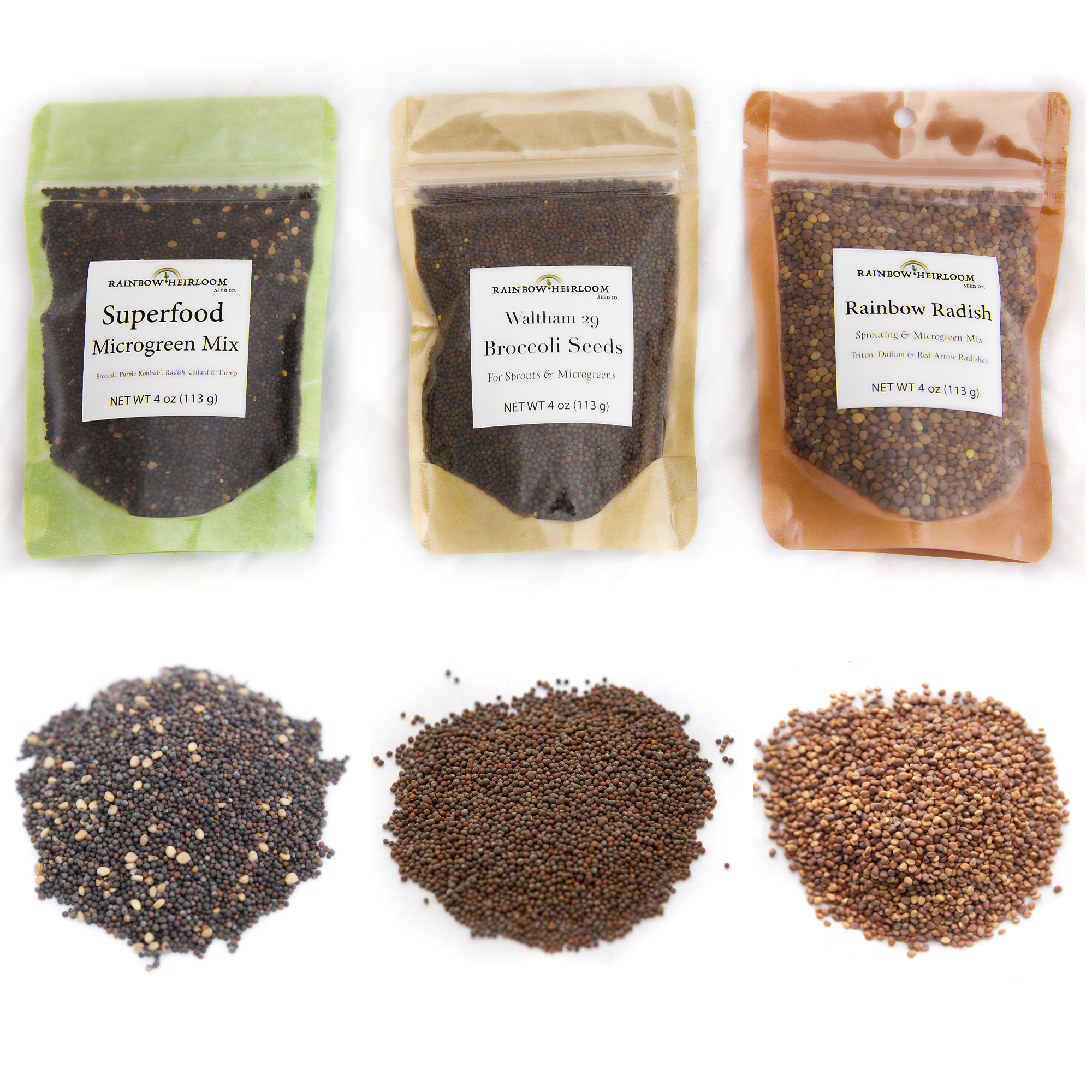 Sprouting & Microgreen Seed Variety