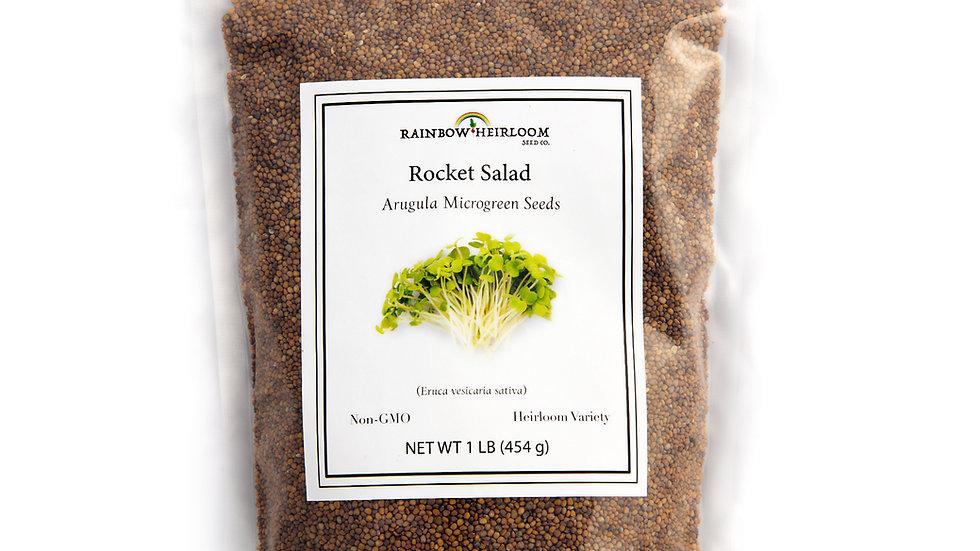 Rocket Salad Arugula Microgreen Seeds
