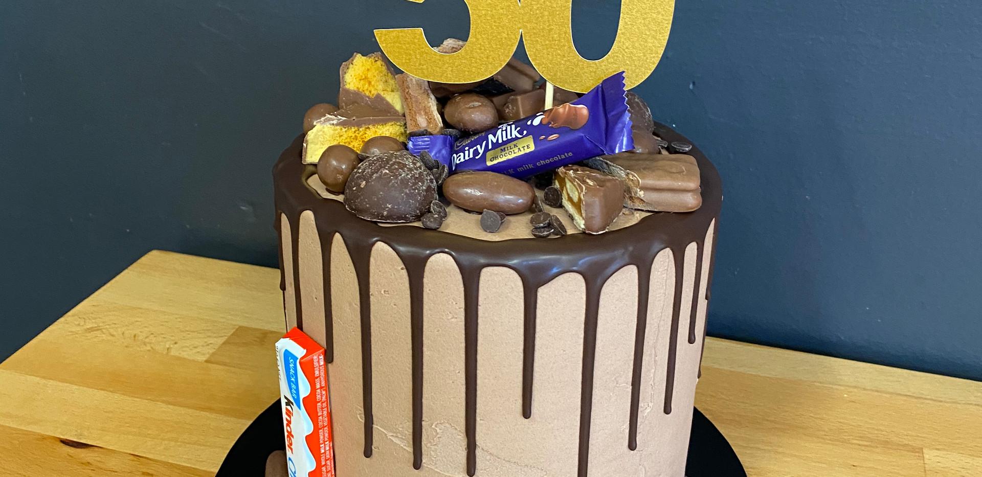 Manly birthday cake