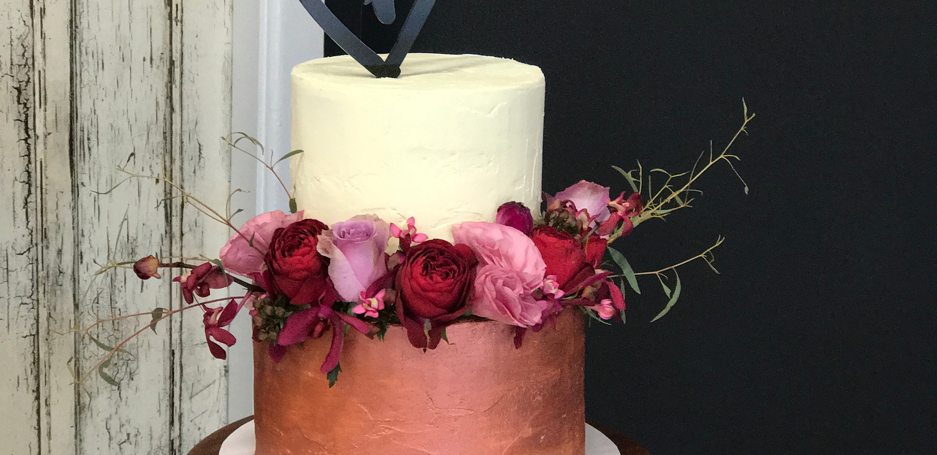 Engagement Cake Copper