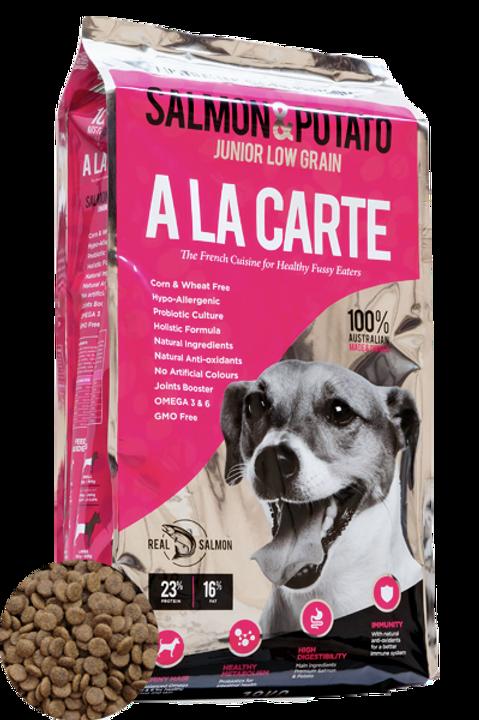 Salmone e patate (basso contenuto di cereali - senza mais, senza grano
