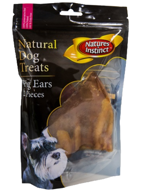Natures Instinct Pig Ears 2pc