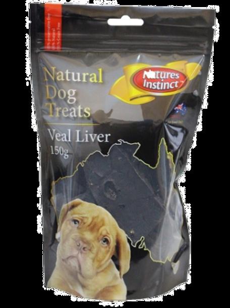 Natures Instinct Veal Liver 150g
