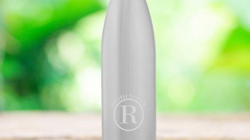 Stainless Steel Double Wall Insulated Water Bottle