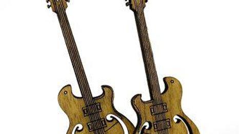 Electric Guitar Earrings # 1162