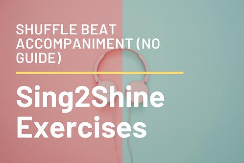 Shuffle Beat Accompaniment Track (No Guide)