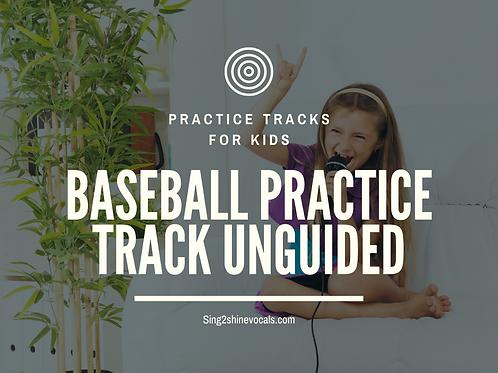 Practice Tracks For Kids!: Baseball Stadium Unguided