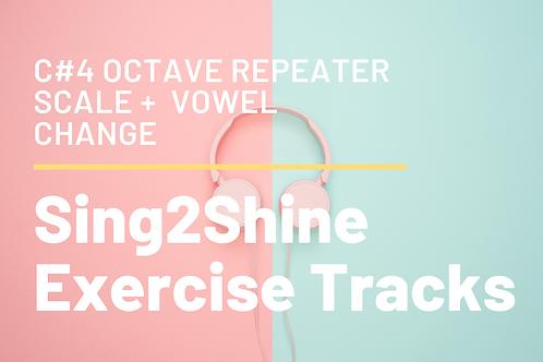 Octave Up Reinforcer+ Vowel Change Audio Track