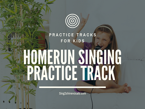 Practice Track for KIDS! : Home Run Octave Jumps Digital Download
