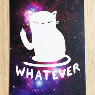 Whatever postcard