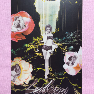 Lesbians postcard