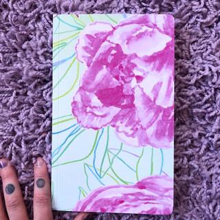 Peonies - notebook