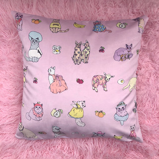 Cats in clothes - pillow case