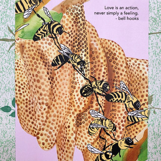 Bees - 8x10 print