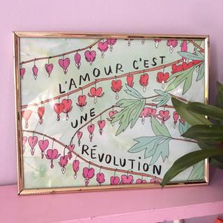 L'amour c'est une révolution - 8x10 prin