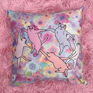 DAnce cats - pillowcase
