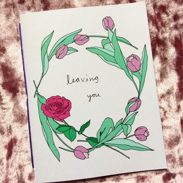 Leaving you zine