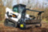 Bobcat Tractor mulching forestry