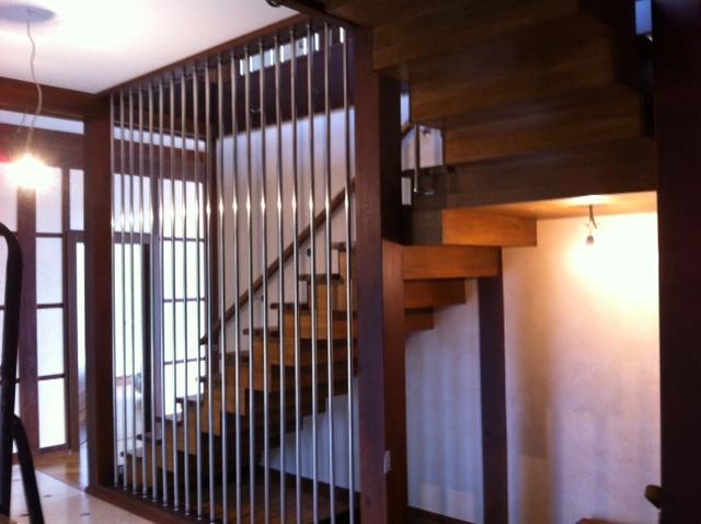 Деревянные лестницы на заказ для дом