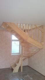 Деревянные Лестницы в Энгельсе в Саратове, металлокаркасы для лестниц