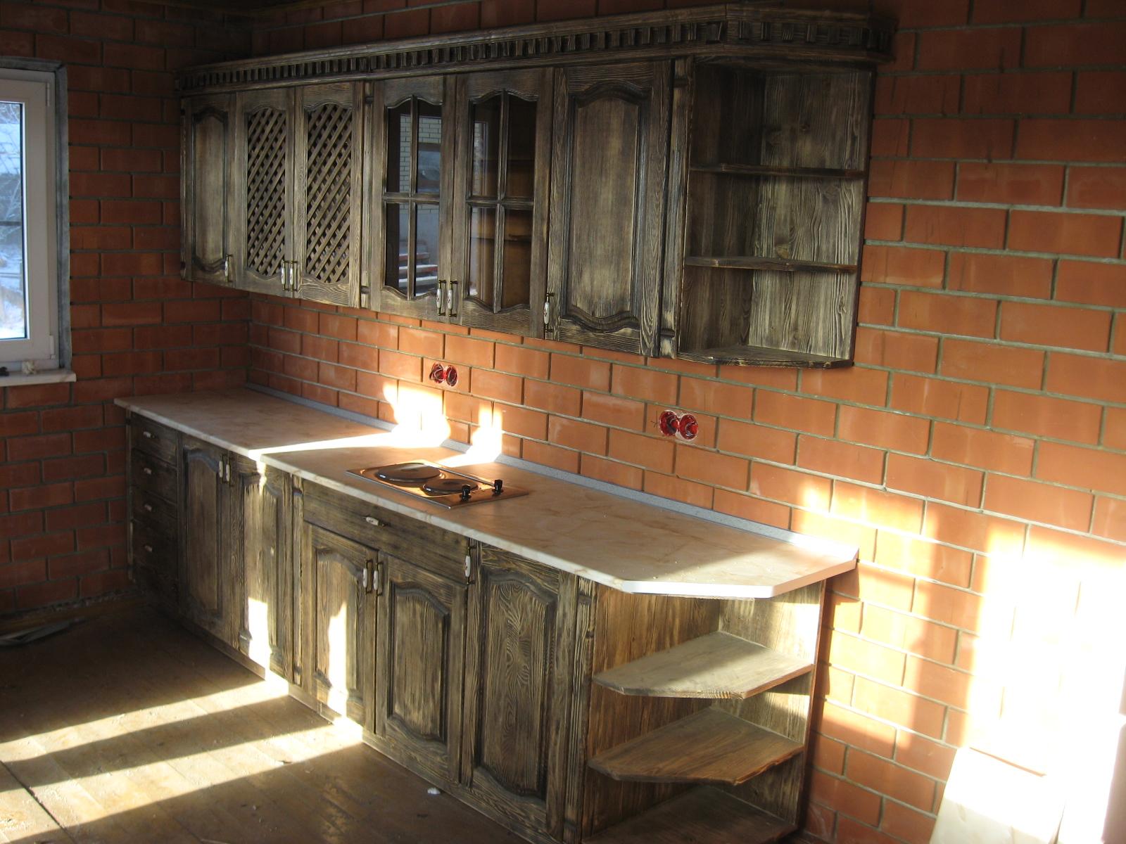 кухни под старину