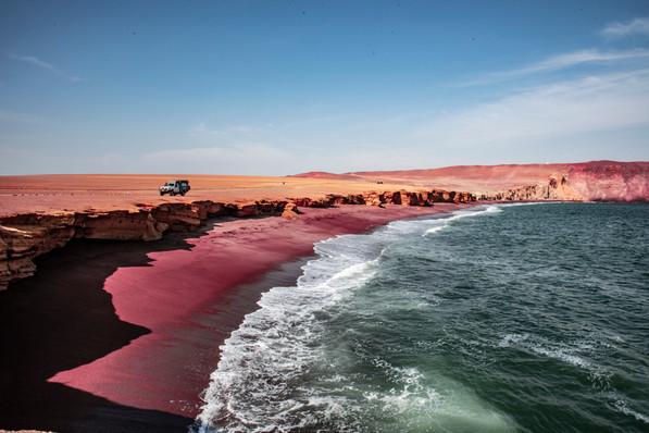 Paracas - Red Beach