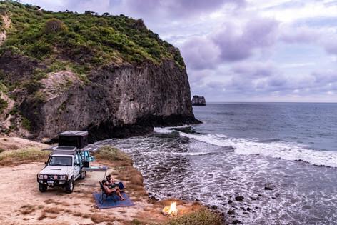 the northern coast of Ecuador